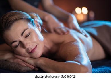 Mature redhead massage