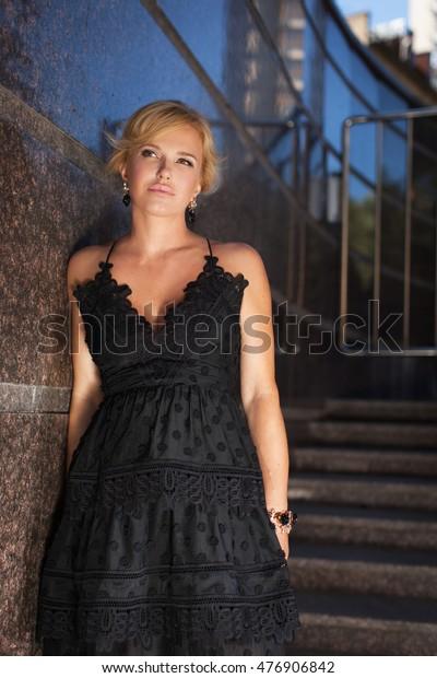 Beautiful dressed mature women