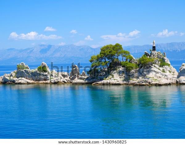 Beautiful Mediterranean Island, Trpanj, Peljesac, Croatia