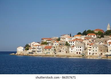 Beautiful Mediterranean village in Croatia