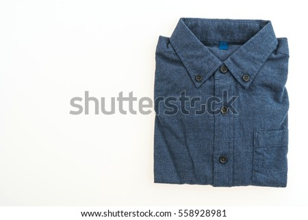 06c89dcaf6d1 Beautiful Men Fashion Shirt Clothing Isolated Stock Photo (Edit Now ...