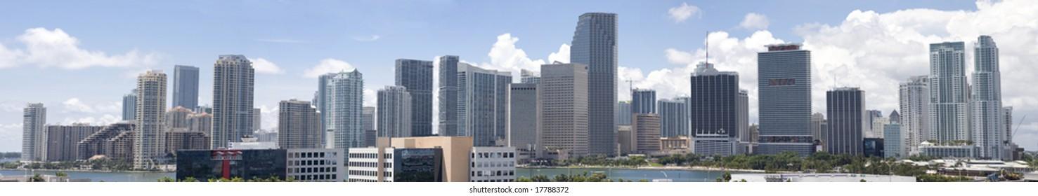Beautiful Miami Panorama