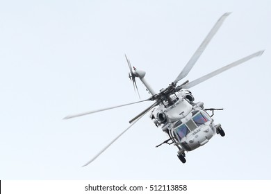 The Beautiful Military Helicopter of Royal Thai Navy