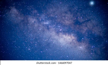 Beautiful milkyway galaxy at night