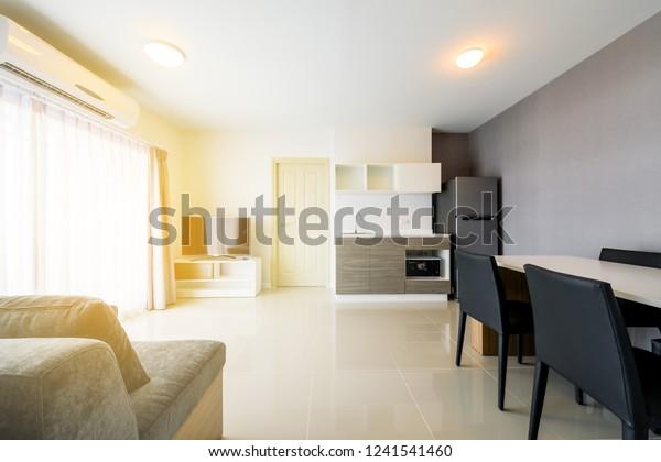 Beautiful Modern Apartment Interior Contemporary Living ...