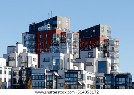 Beautiful Modern Apartments Sweden Stock Photo Edit Now 514053172 - Sleek-and-beautiful-apartment-in-sweden
