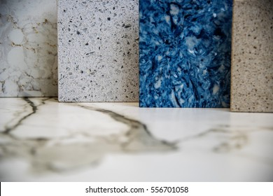 beautiful modern granite and marble counters, made of natural stone slabs