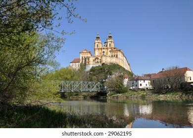 Beautiful monastery of Melk
