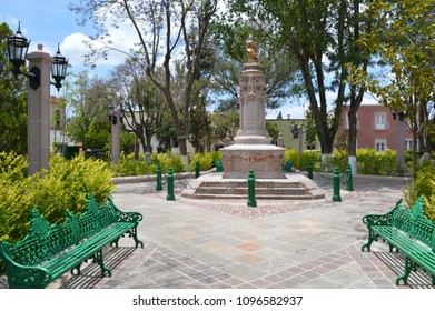 Beautiful Monument in 1500s City Jerez, Zacatecas, Mexico