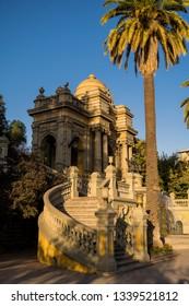 Beautiful monument at Santiago de Chile