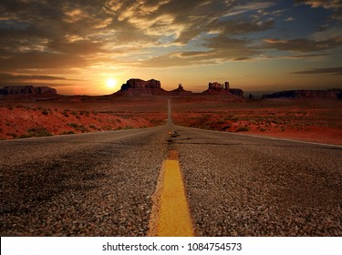 Beautiful Monument Valley Landscape