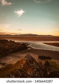 Beautiful moody landscape in Blackrock, Ireland.