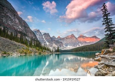 Beautiful Moraine Lake Alberta  Canada