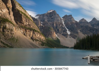 Beautiful Moraine Lake - Long exposure version, Alberta, Canada