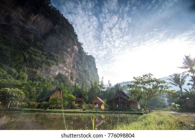 Beautiful Morning at Harau Valley , Payakumbuh, West Sumatera, Indonesia