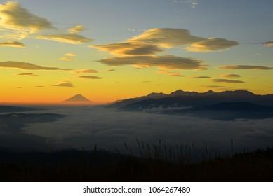 Beautiful Morning of Mt.Fuji