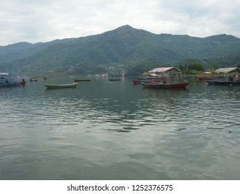 beautiful morning at Phewa lake