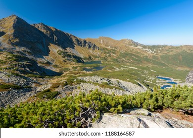 Beautiful Mountain Landscape in the High Tatra (Zielona Dolina Gasienicowa)
