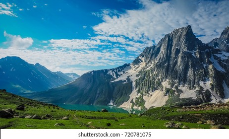 Beautiful mountain landscape of Sonamarg, Jammu and Kashmir state, India