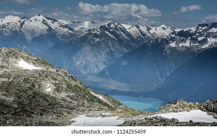Beautiful mountain landscape in Whistler BC, Canada