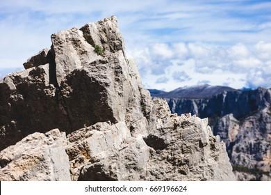 Beautiful Mountain Nature Landscape Verdon Canyon France