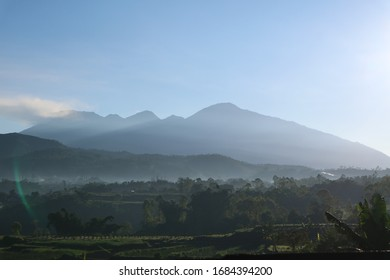 Beautiful mountain view in the morning