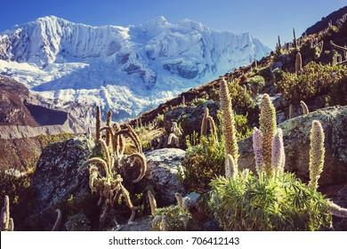 66477120b704 Beautiful mountains landscapes in Cordillera Huayhuash