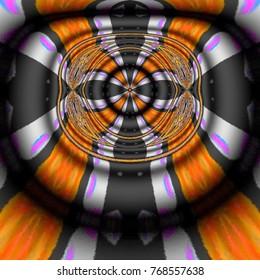 Beautiful multicolor kaleidoscope