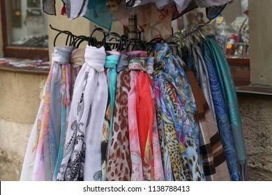 Beautiful multi-colored scarf for sale
