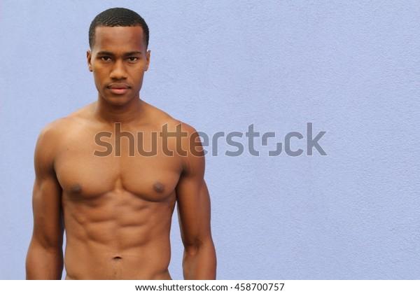 Shirtless Man Stock Photo - Download Image Now - iStock