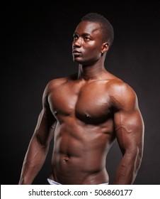 black man model