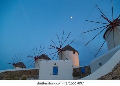 Beautiful Mykonos island detail, Greece
