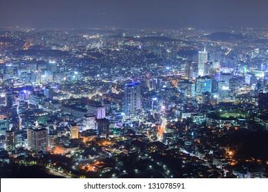 Beautiful N seoul tower