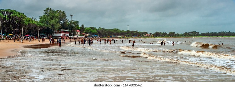 Beautiful Nagoa Beach, Diu, Union territory of Daman and Diu, Gujarat, India