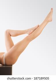 beautiful naked female legs