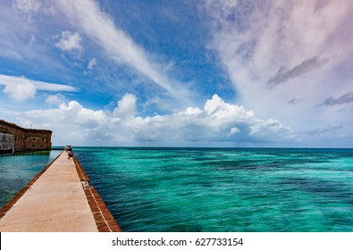 The beautiful national park known as Dry Tortugas