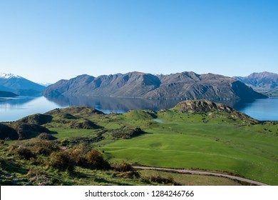 Beautiful national park and rural scenery in heartland New Zealand