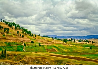 Beautiful natural landscape of Ayacucho