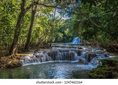 Beautiful natural landscape in Bonito, Brazil
