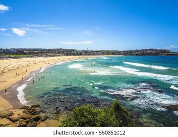 Beautiful Nature of Bondi Beach in Australia