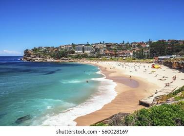 Beautiful Nature of Bronte Beach in Australia.