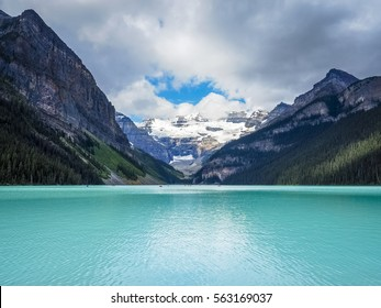 Beautiful Nature of Lake Louise in Banff National Park, Canada.