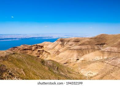 Beautiful nature landscape of Jordan