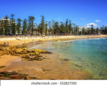 Beautiful Nature of Manly Beach in Australia.
