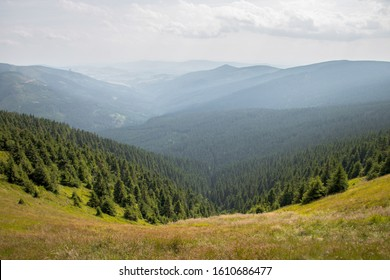 Beautiful nature in mountains in Czech republic