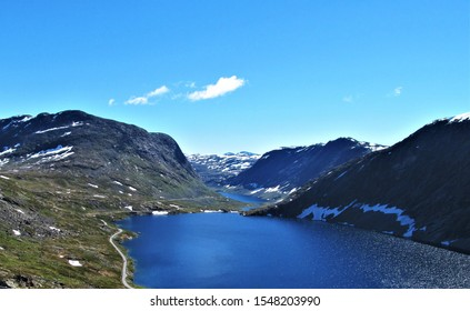 Beautiful nature mountains Dalsnibba in Norway