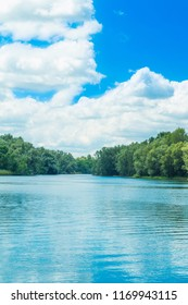 Beautiful nature park Kopacki rit in Slavonia, Croatia, popular tourist destination and birds reservation