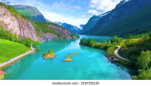 Beautiful Nature Scene from Norway