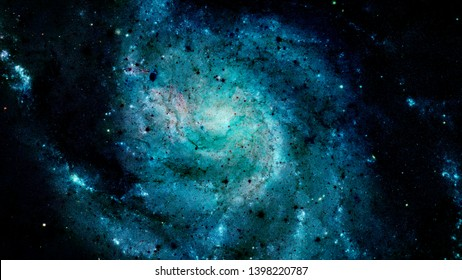 Beautiful nebula, mysterious universe and bright stars in outer space. Elements of this image furnished by NASA