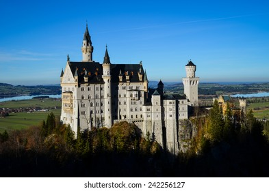 Beautiful Neuschwanstein Castle in Germany